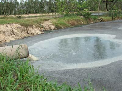 Nguồn nước ngầm bị ô nhiễm nghiêm trọng