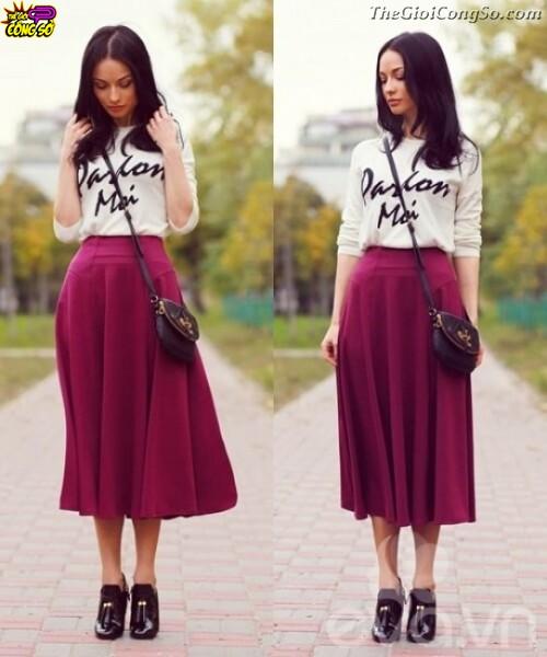 Gợi ý thời trang cho những cô nàng có bắp chân to