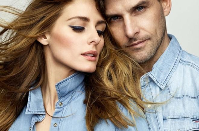 Tín đồ thời trang xinh đẹp nhất Hollywood làm mẫu bên ông xã