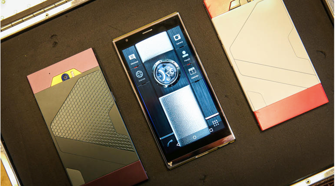Smartphone làm từ kim loại lỏng, bảo mật tốt nhất thế giới