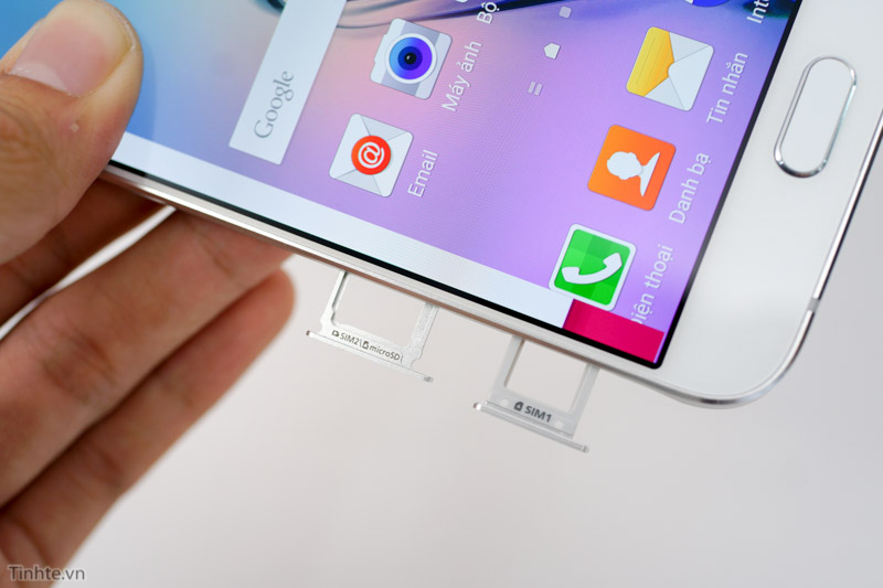 Rò rỉ ảnh khay SIM kép của Galaxy Note 5