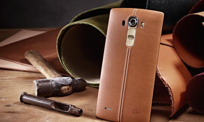 LG G4 vỏ da giảm giá 2 triệu đồng tại Việt Nam
