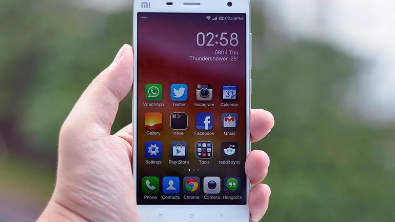 Xiaomi MI 4 : điện thoại công nghệ nhái