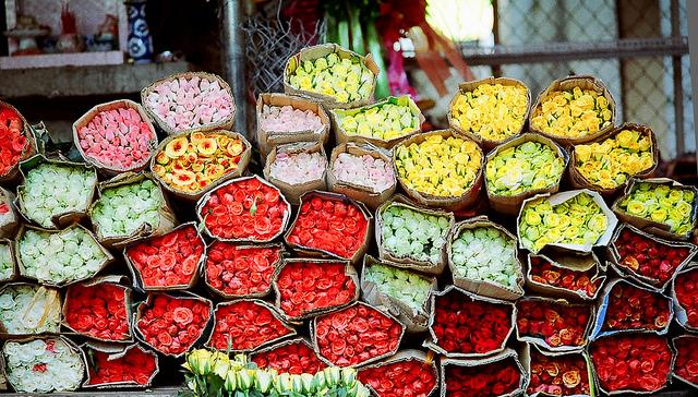 Những địa điểm mua hoa tặng bạn gái ở Sài Gòn