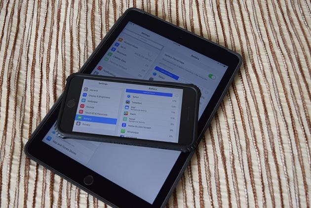 Thời lượng pin iphone tốt hơn sau khi nâng cấp iOS9 ?