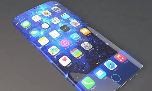 Iphone 7 sử dụng màn hình cong?