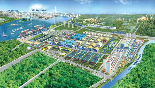 Tiêm năng bất động sản khu công nghiệp cao