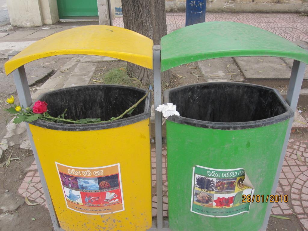 Phân loại rác thải – Bảo vệ MT bằng việc đơn giản