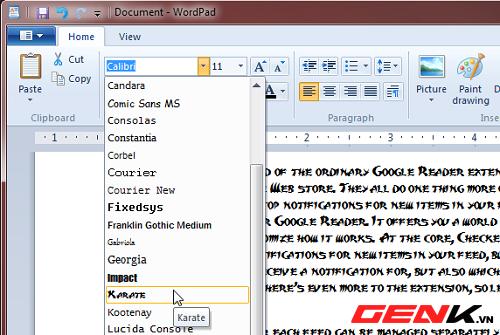 Công cụ cài font tạm thời cho windows