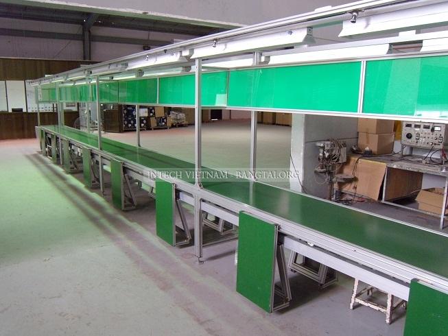 Hệ thống băng tải giúp được gì trong  sản xuất