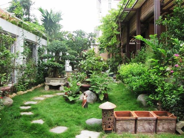 Kinh nghiệm thiết kế sân vườn hợp phong thủy