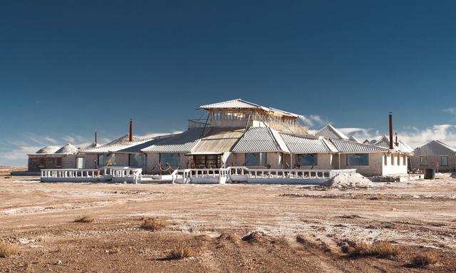 Khám phá khách sạn làm bằng 10500 tấn muối
