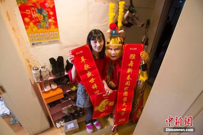 Trung Quốc: Tôn Ngộ Không giao hàng ngày Tết