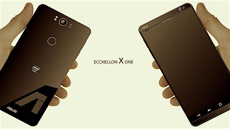 Một phiên bản smartphone vỏ nguyên khối, 4 đèn Flash, cài sẵn Android 7