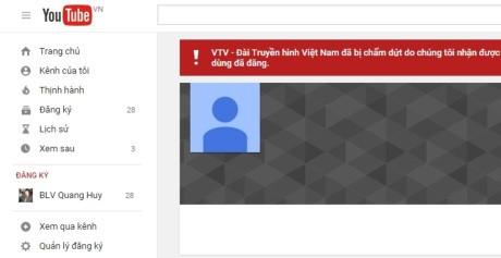 Kênh VTV bị khóa kênh YouTube: Khó khăn chặn xâm phạm bản quyền