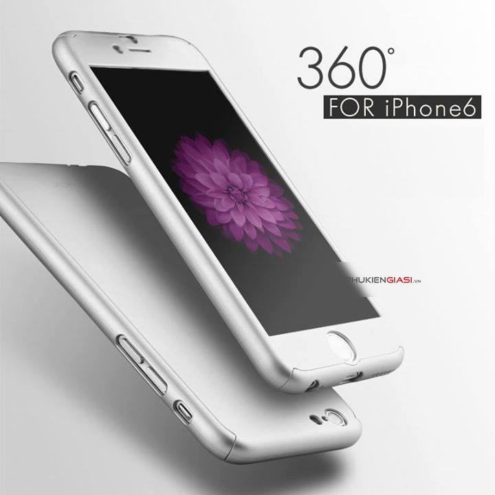 Ốp mặt sau hãng Ipaky 360* cho iphone 6s