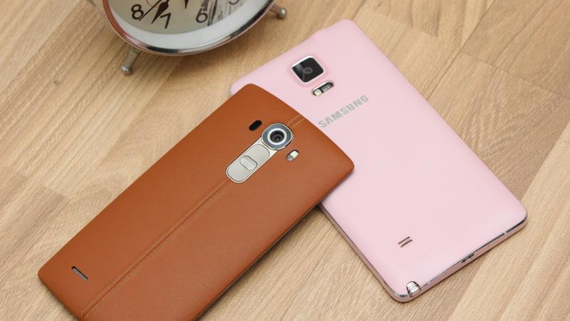 Bạn sẽ chọn Galaxy Note 4 hay LG G4?