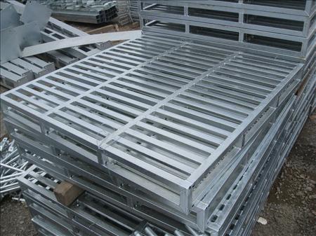 Quy trình sản xuất pallet sắt