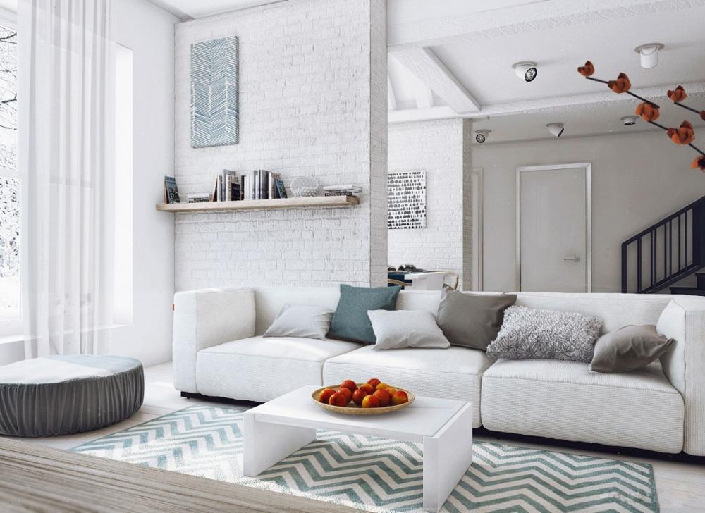Tư vấn thiết kế nội thất cho ngôi nhà 36m2 có vườn