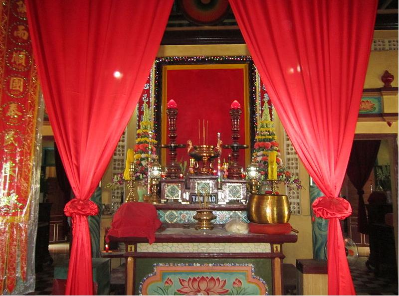 Cách nên chú ý khi lựa chọn rèm vải phòng thờ tổ tiên