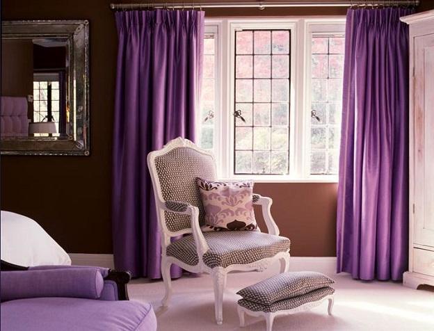 Mọi Chọn rèm vải cùng tông với màu bức tường