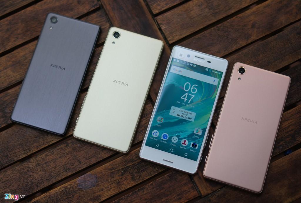 Siêu phẩm Sony Xperia X Performance đổ bộ Việt Nam, mức 14,5 triệu đồng