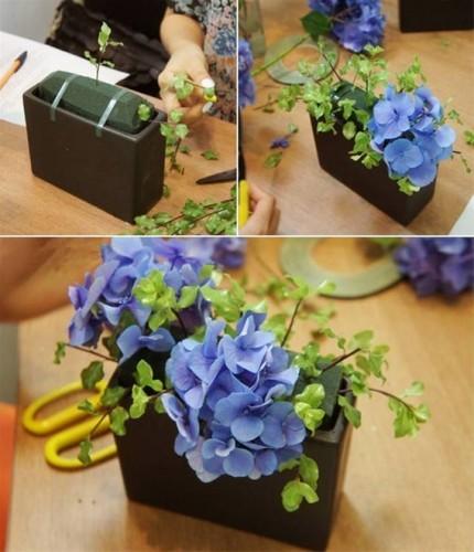 Cách trang trí lãng hoa với sắc màu đáng yêu