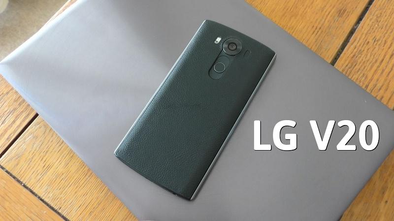LG V20 sắp được trình làng ở Mỹ