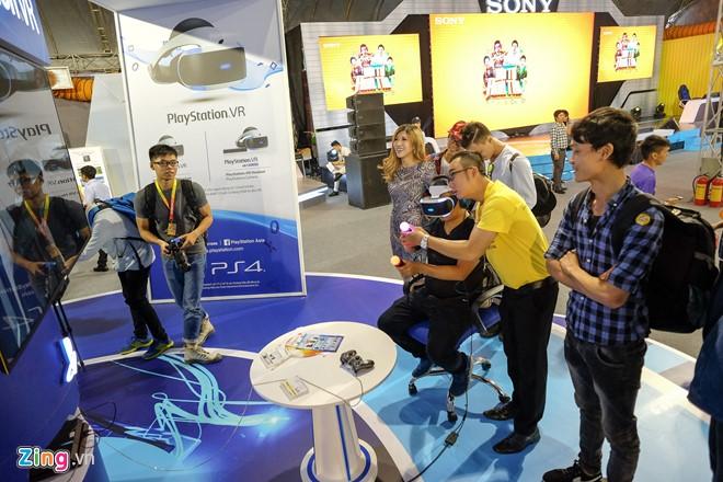 Kính thực tế ảo Sony Play Station VR xuất hiện ở Việt Nam