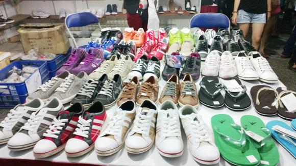 Một vài kiểu giày dép hàng Make in China quen thuộc