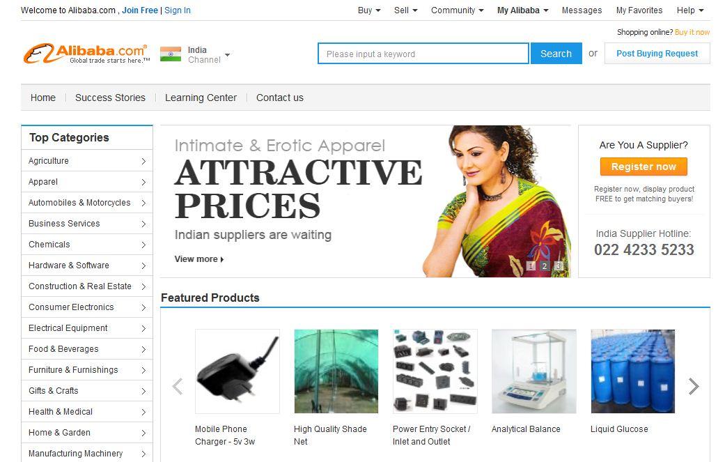 Những cách mua online giảm giá trên Alibaba
