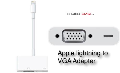Cáp Lightning to VGA Adapter chính hãng Apple