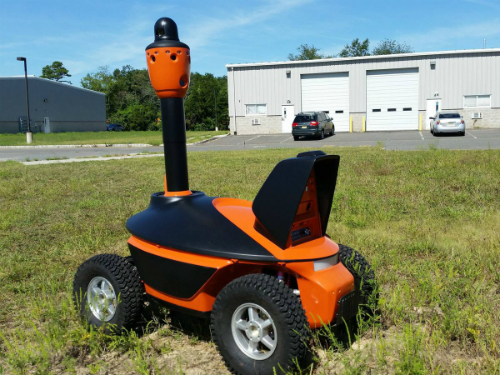 Robot có thể thay thế nhân viên bảo vệ tại Singapore