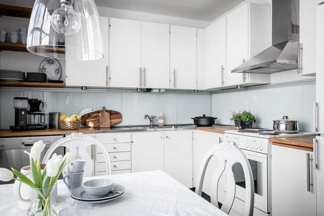 Biến nhà bếp thành không gian đẹp lung linh theo phong cách Scandinavia