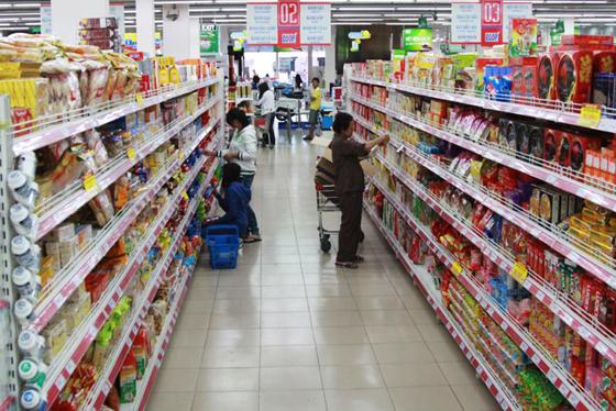 Thuận tiện khi đi mua hàng tại siêu thị