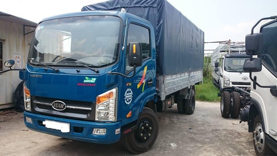 Tổng quát về ngoại thất xe tải Veam VT350