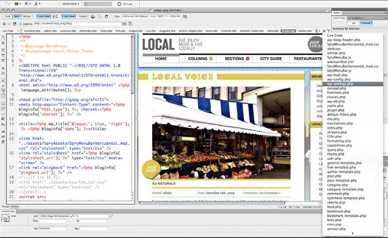 Những công cụ thiết kế website thích hợp