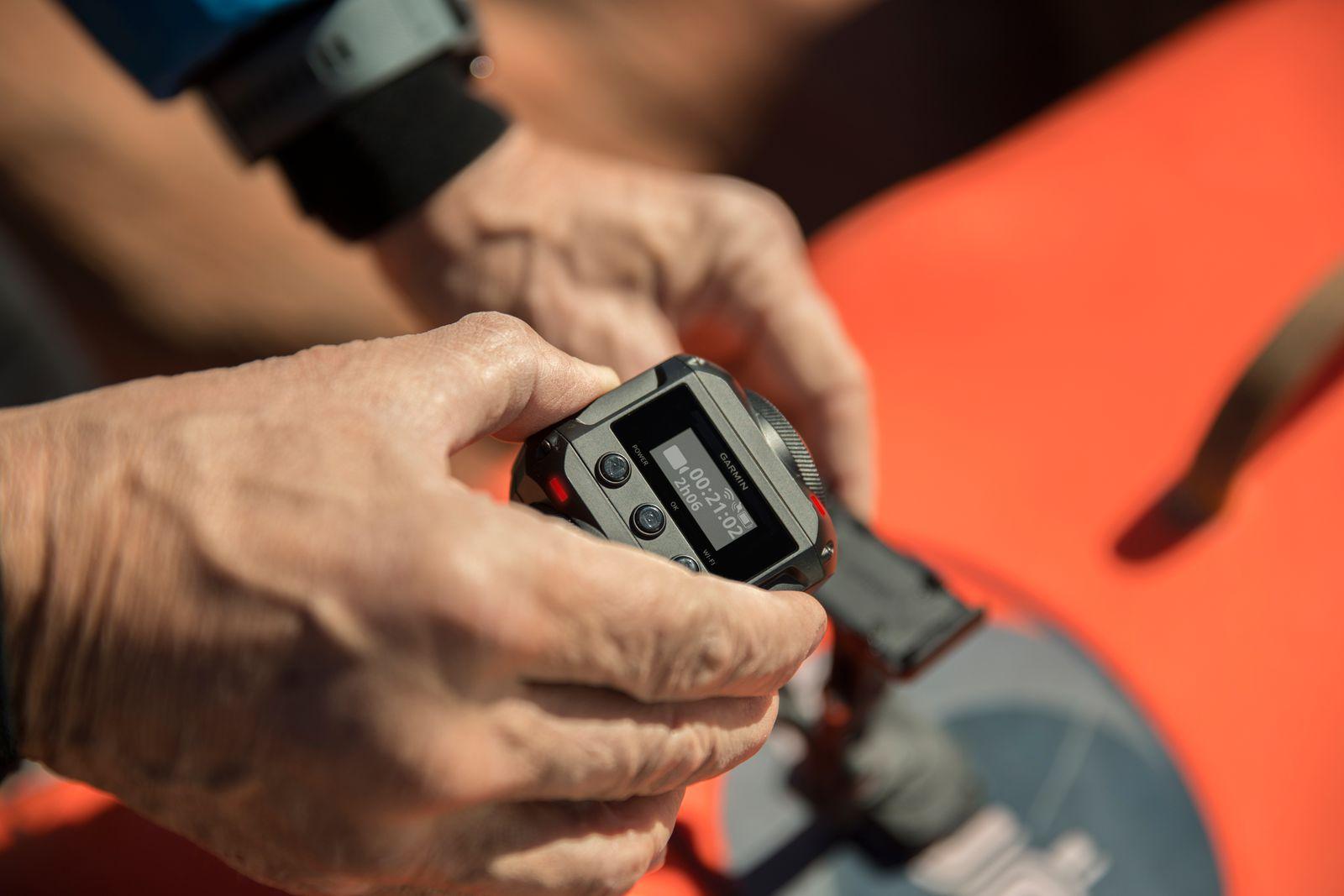 Garmin trình làng camera 360 độ VIRB: quay video 5.7K 30fps, có live stream, ghi âm 3D, chống nước,…