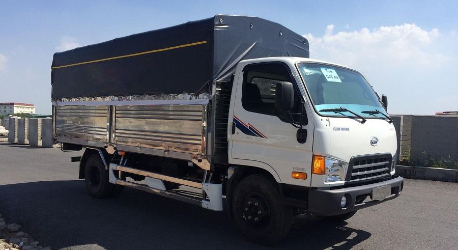 Dòng Xe tải Hyundai HD800 8 tấn tăng tải