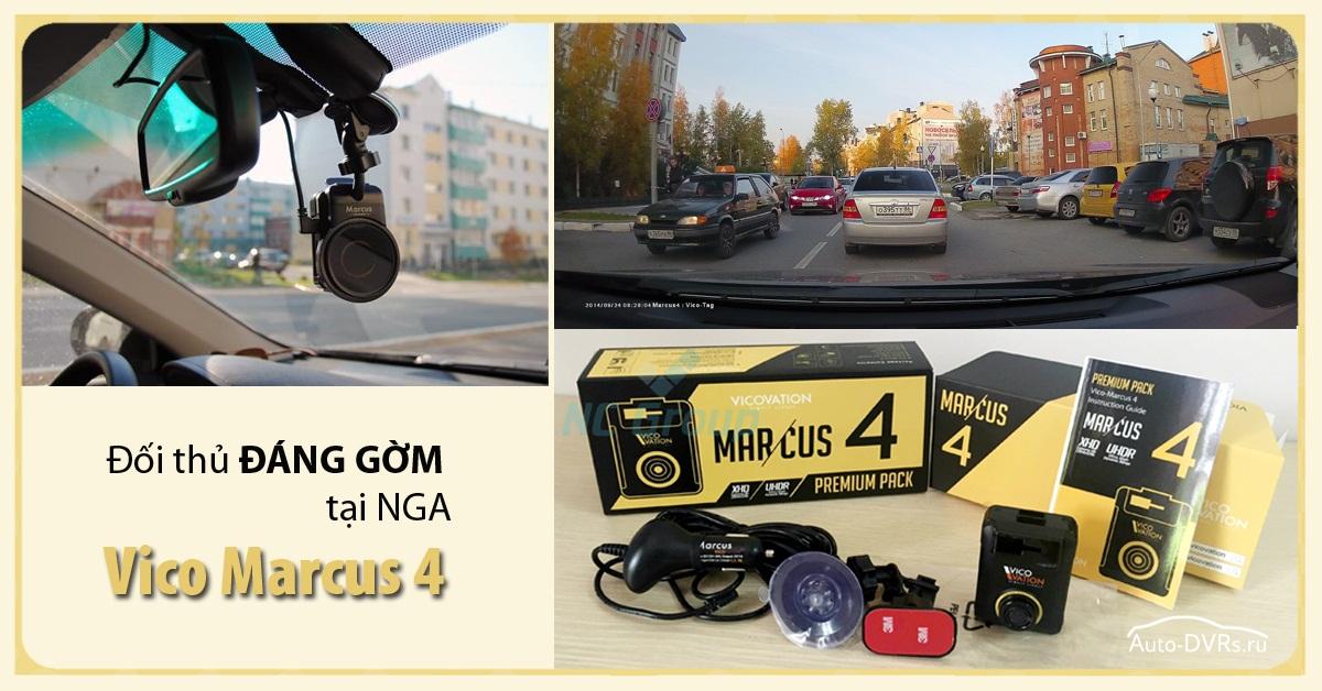 Vico Marcus 4 đối thủ đáng gờm tại thị trường camera hành trình  xe hơi Nga