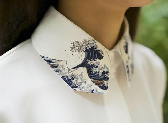 Một vài gợi nhắc cổ áo sơ mi độc lạ dành cho các nữ giới