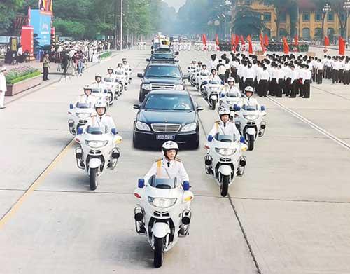 Các lãnh đạo cấp cao nào được an ninh cảnh vệ bảo vệ đặc biệt?