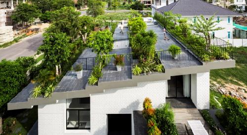 2 căn nhà VN lọt top 10 ngôi nhà có 'vườn trên mái' đẹp nhất trái đất