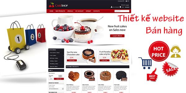 Giá thiết kế website bán hàng tại Tp.HCM