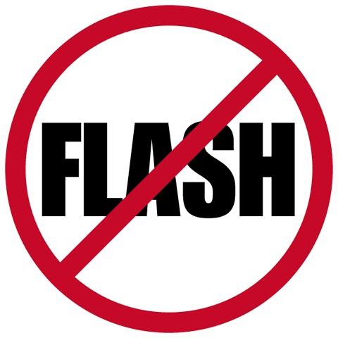 Một vài lý do chính không nên thiết kế web bán hàng bằng flash