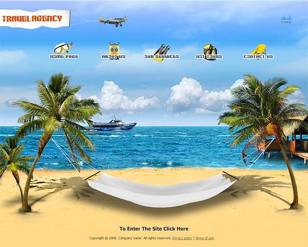 Khuynh hướng design website du lịch mới nhất