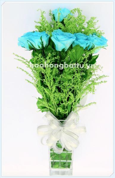 Hoa Tươi Bất Tử Lọ 12 hoa – LH8