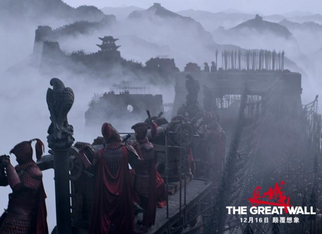 The Great Wall là Advanger trong bom tấn lịch sử điện ảnh Trung Quốc