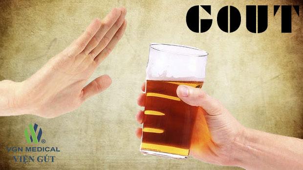 Bia rượu – tác nhân số một gây bệnh gút