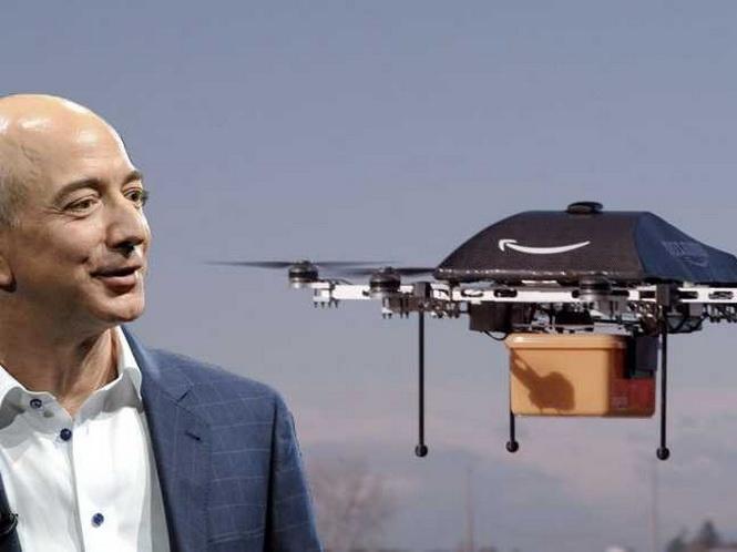Amazon đã được thử nghiệm giao hàng bằng máy bay không người điều khiển